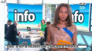 Nathalie Iannetta et Kady Adoum-Douass dans la Matinale - 24/05/13 - 10