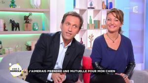 Valérie Durier dans la Quotidienne - 16/10/14 - 02