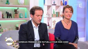 Valérie Durier dans la Quotidienne - 16/10/14 - 05