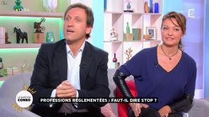 Valérie Durier dans la Quotidienne - 16/10/14 - 08