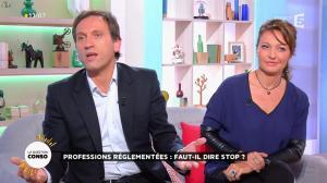 Valérie Durier dans la Quotidienne - 16/10/14 - 09