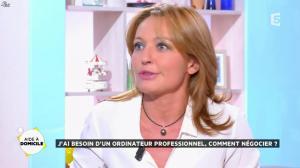 Valérie Durier dans la Quotidienne - 26/09/14 - 12