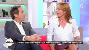 Valérie Durier dans la Quotidienne - 26/09/14 - 14
