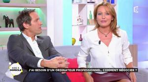 Valérie Durier dans la Quotidienne - 26/09/14 - 15