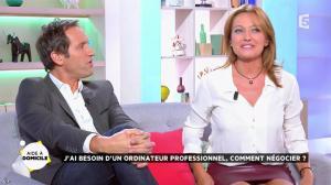Valérie Durier dans la Quotidienne - 26/09/14 - 17