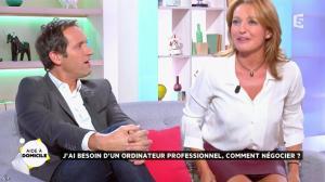 Valérie Durier dans la Quotidienne - 26/09/14 - 18