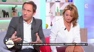 Valérie Durier dans la Quotidienne - 26/09/14 - 26