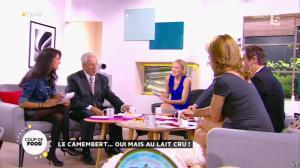 Valérie Durier, Maya Lauqué et Farida Foodista dans la Quotidienne - 23/09/14 - 38