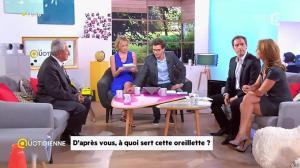 Valérie Durier et Maya Lauqué dans la Quotidienne - 23/09/14 - 08