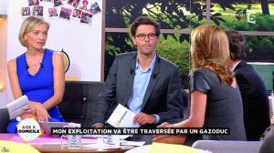 Valérie Durier et Maya Lauqué dans la Quotidienne - 23/09/14 - 18