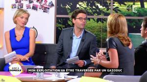 Valérie Durier et Maya Lauqué dans la Quotidienne - 23/09/14 - 20