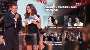 Lucie Lucas dans NRJ Music Awards - 07/11/15 - 04