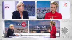 Caroline Roux dans les 4 Vérités - 22/01/18 - 05