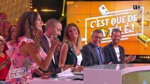 Caroline Ithurbide et FrancesÇa Antoniotti dans c'est Que de la Télé - 04/09/18 - 05