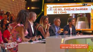 Caroline Ithurbide et FrancesÇa Antoniotti dans c'est Que de la Télé - 04/09/18 - 06