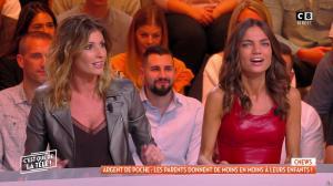 Caroline Ithurbide et FrancesÇa Antoniotti dans c'est Que de la Télé - 06/11/18 - 07