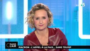 Caroline Roux dans C dans l'Air - 12/11/18 - 07