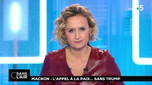Caroline Roux dans C dans l'Air - 12/11/18 - 14
