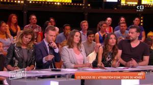 FrancesÇa Antoniotti et Caroline Ithurbide dans c'est Que de la Télé - 01/06/18 - 08