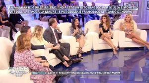 FrancesÇa Cipriani et Angela Melillo dans Pomeriggio 5 - 27/11/18 - 02