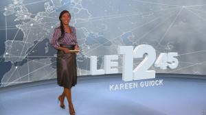 Kareen Guiock dans le 12-45 - 07/11/18 - 01