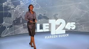 Kareen Guiock dans le 12-45 - 12/11/18 - 01