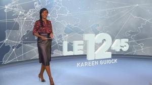 Kareen Guiock dans le 12-45 - 26/10/18 - 01