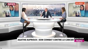 Agathe Auproux chez Morandini Live - 23/10/19 - 02
