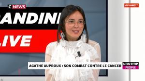 Agathe Auproux chez Morandini Live - 23/10/19 - 04