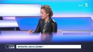 Caroline Roux dans C dans l'Air - 09/12/19 - 12