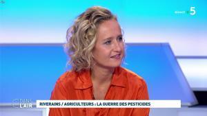 Caroline Roux dans C dans l'Air - 10/09/19 - 07