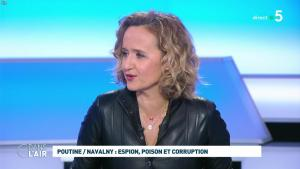 Caroline Roux dans C dans l'Air - 28/01/21 - 04