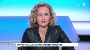 Caroline Roux dans C dans l'Air - 28/01/21 - 17