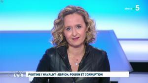 Caroline Roux dans C dans l'Air - 28/01/21 - 18
