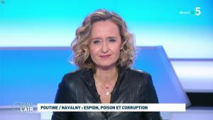Caroline Roux dans C dans l'Air - 28/01/21 - 22