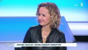Caroline Roux dans C dans l'Air - 28/01/21 - 24