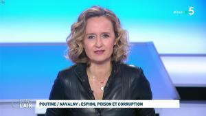 Caroline Roux dans C dans l'Air - 28/01/21 - 28
