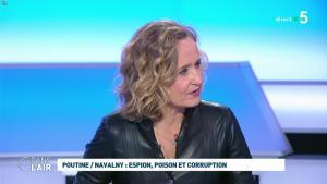 Caroline Roux dans C dans l'Air - 28/01/21 - 31