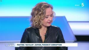 Caroline Roux dans C dans l'Air - 28/01/21 - 34