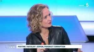 Caroline Roux dans C dans l'Air - 28/01/21 - 39
