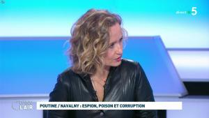 Caroline Roux dans C dans l'Air - 28/01/21 - 42