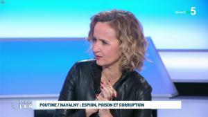 Caroline Roux dans C dans l'Air - 28/01/21 - 46