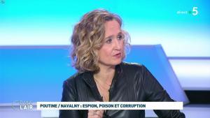 Caroline Roux dans C dans l'Air - 28/01/21 - 55