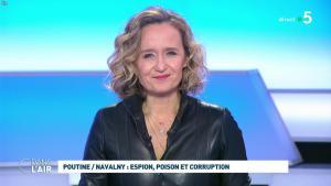 Caroline Roux dans C dans l'Air - 28/01/21 - 65