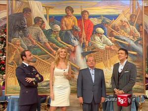 Adriana Volpe dans I Fatti Vostri - 07/12/09 - 1