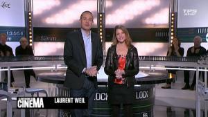 Valérie Amarou dans la Quotidienne Du Cinema - 07/03/11 - 1