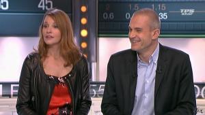 Valérie Amarou dans la Quotidienne Du Cinema - 07/03/11 - 3