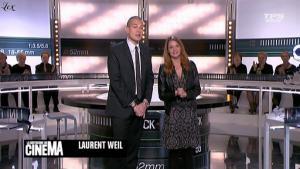 Valérie Amarou dans la Quotidienne Du Cinema - 14/02/11 - 1