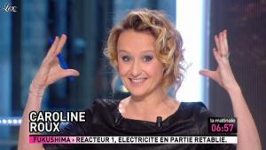 Caroline Roux dans la Matinale - 24/03/11 - 02