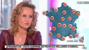 Caroline Roux dans la Matinale - 25/05/12 - 13